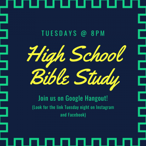 High School Bible Study